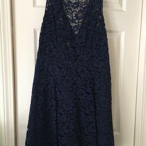 David's Bridal Marine Lace dress SZ 10.